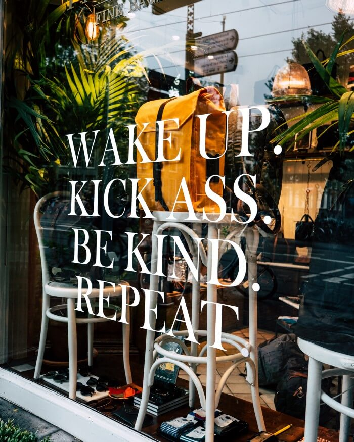 Best paid ad strategy during COVID-19:  Wake Up. Kick Ass. Be Kind. Repeat.