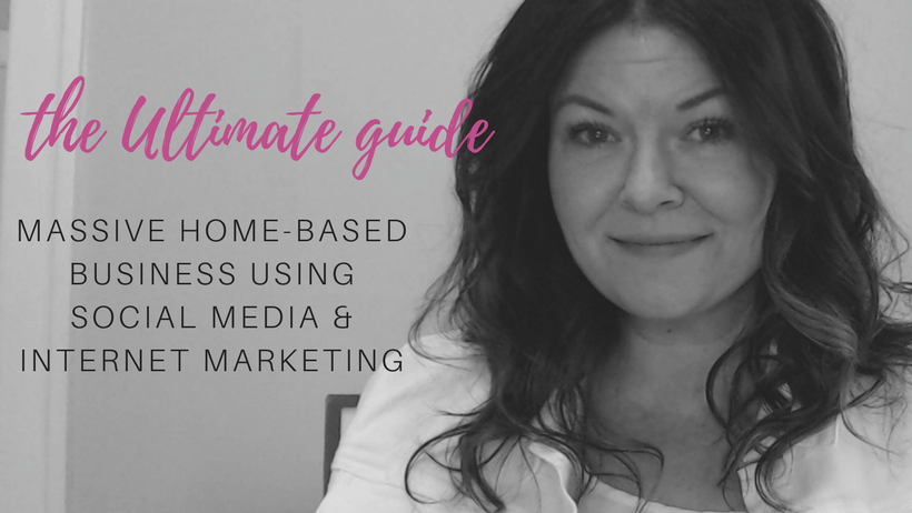 The Ultimate Guide to building a massive home based business using social media and internet marketing