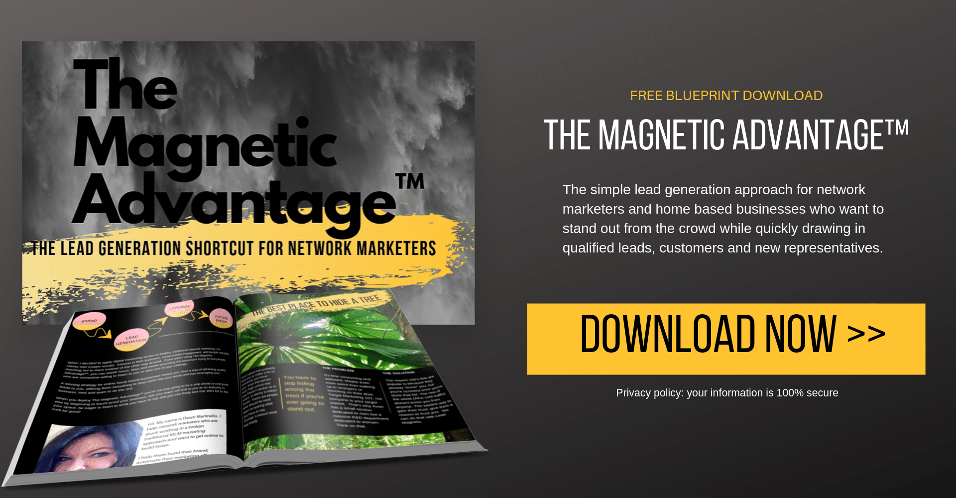 The Magnetic Advantage: The lead generation shortcut for network marketers